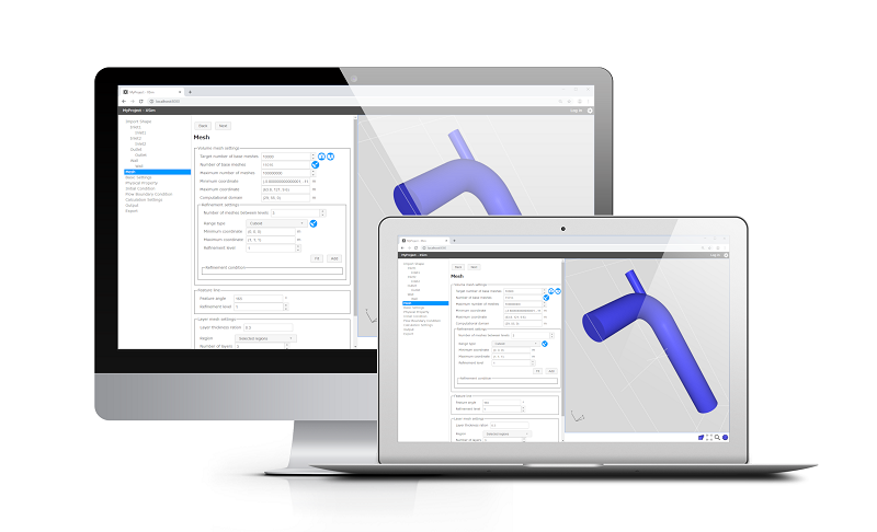 XSim: Web-based GUI for OpenFOAM - XSim